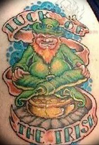 фото тату лепрекон от 04.10.2017 №041 - tattoo leprechaun - tattoo-photo.ru