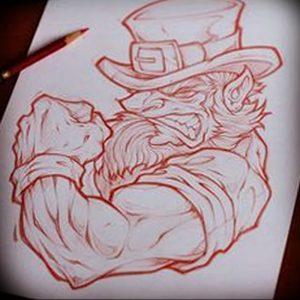 фото тату лепрекон от 04.10.2017 №043 - tattoo leprechaun - tattoo-photo.ru
