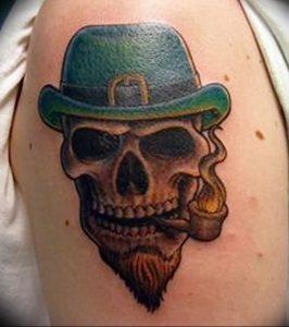 фото тату лепрекон от 04.10.2017 №049 - tattoo leprechaun - tattoo-photo.ru