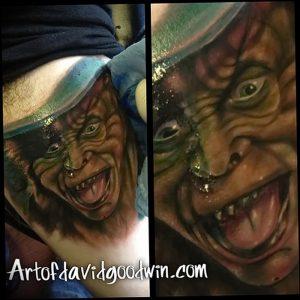 фото тату лепрекон от 04.10.2017 №051 - tattoo leprechaun - tattoo-photo.ru