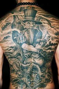 фото тату лепрекон от 04.10.2017 №052 - tattoo leprechaun - tattoo-photo.ru