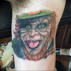 фото тату лепрекон от 04.10.2017 №076 - tattoo leprechaun - tattoo-photo.ru