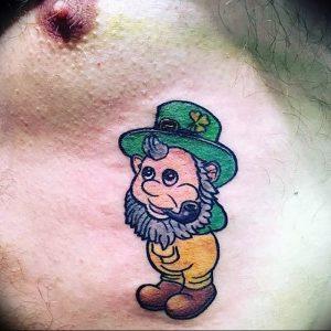 фото тату лепрекон от 04.10.2017 №088 - tattoo leprechaun - tattoo-photo.ru