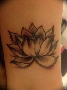фото тату лотос от 02.10.2017 №009 - lotus tattoo - tattoo-photo.ru