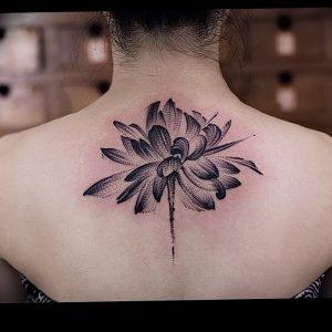 фото тату лотос от 02.10.2017 №013 - lotus tattoo - tattoo-photo.ru