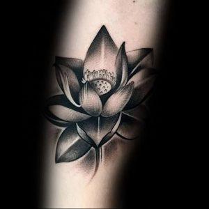 фото тату лотос от 02.10.2017 №015 - lotus tattoo - tattoo-photo.ru