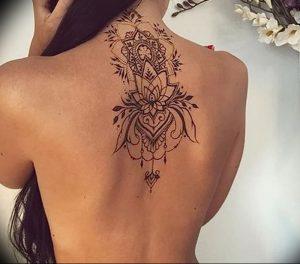 фото тату лотос от 02.10.2017 №028 - lotus tattoo - tattoo-photo.ru