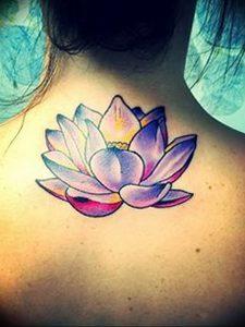 фото тату лотос от 02.10.2017 №031 - lotus tattoo - tattoo-photo.ru
