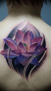 фото тату лотос от 02.10.2017 №037 - lotus tattoo - tattoo-photo.ru