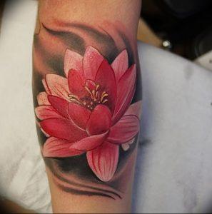 фото тату лотос от 02.10.2017 №045 - lotus tattoo - tattoo-photo.ru