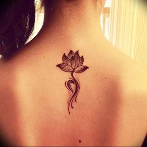 фото тату лотос от 02.10.2017 №055 - lotus tattoo - tattoo-photo.ru