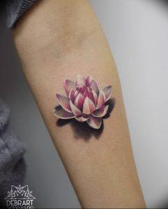 фото тату лотос от 02.10.2017 №060 - lotus tattoo - tattoo-photo.ru