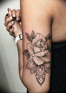 фото тату лотос от 02.10.2017 №066 - lotus tattoo - tattoo-photo.ru