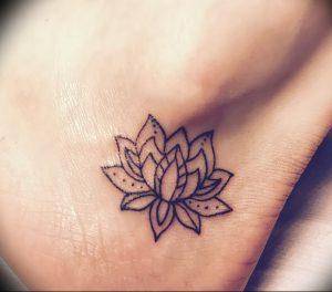 фото тату лотос от 02.10.2017 №069 - lotus tattoo - tattoo-photo.ru