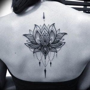 фото тату лотос от 02.10.2017 №074 - lotus tattoo - tattoo-photo.ru