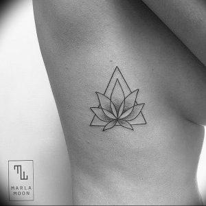 фото тату лотос от 02.10.2017 №076 - lotus tattoo - tattoo-photo.ru
