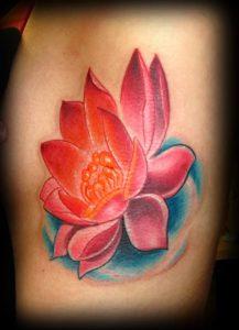 фото тату лотос от 02.10.2017 №087 - lotus tattoo - tattoo-photo.ru