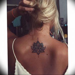 фото тату лотос от 02.10.2017 №090 - lotus tattoo - tattoo-photo.ru