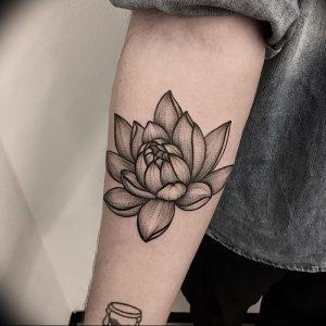 фото тату лотос от 02.10.2017 №098 - lotus tattoo - tattoo-photo.ru