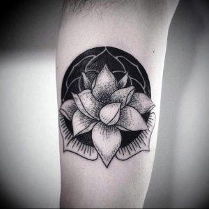 фото тату лотос от 02.10.2017 №102 - lotus tattoo - tattoo-photo.ru