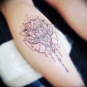 фото тату лотос от 02.10.2017 №103 - lotus tattoo - tattoo-photo.ru