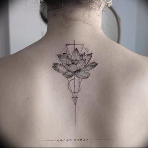 фото тату лотос от 02.10.2017 №110 - lotus tattoo - tattoo-photo.ru