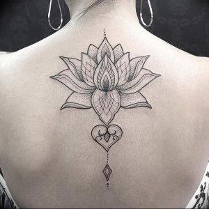 фото тату лотос от 02.10.2017 №113 - lotus tattoo - tattoo-photo.ru