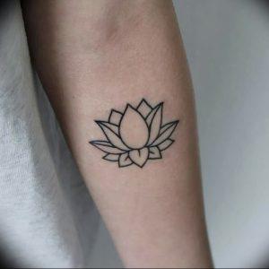 фото тату лотос от 02.10.2017 №117 - lotus tattoo - tattoo-photo.ru