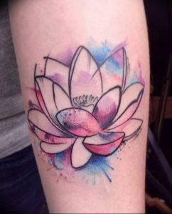 фото тату лотос от 02.10.2017 №125 - lotus tattoo - tattoo-photo.ru