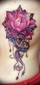 фото тату лотос от 02.10.2017 №127 - lotus tattoo - tattoo-photo.ru