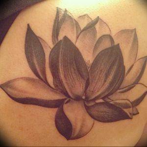 фото тату лотос от 02.10.2017 №133 - lotus tattoo - tattoo-photo.ru
