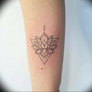 фото тату лотос от 02.10.2017 №141 - lotus tattoo - tattoo-photo.ru