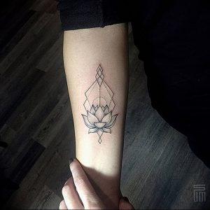 фото тату лотос от 02.10.2017 №147 - lotus tattoo - tattoo-photo.ru