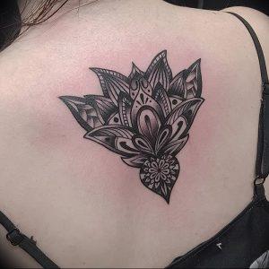 фото тату лотос от 02.10.2017 №156 - lotus tattoo - tattoo-photo.ru