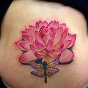 фото тату лотос от 02.10.2017 №157 - lotus tattoo - tattoo-photo.ru