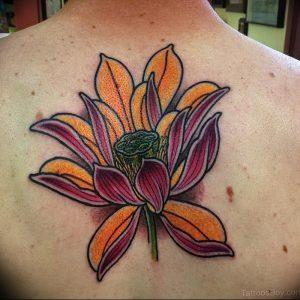 фото тату лотос от 02.10.2017 №159 - lotus tattoo - tattoo-photo.ru
