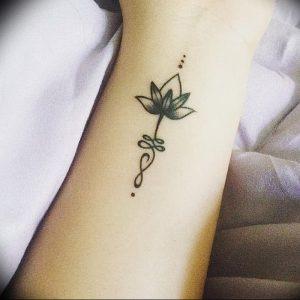 фото тату лотос от 02.10.2017 №161 - lotus tattoo - tattoo-photo.ru