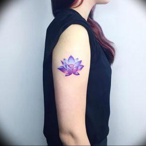 фото тату лотос от 02.10.2017 №162 - lotus tattoo - tattoo-photo.ru