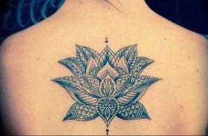 фото тату лотос от 02.10.2017 №176 - lotus tattoo - tattoo-photo.ru