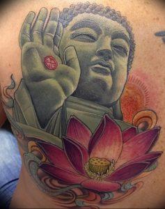 фото тату лотос от 02.10.2017 №182 - lotus tattoo - tattoo-photo.ru