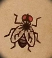 фото тату муха от 22.09.2017 №005 — Fly Tattoo — tattoo-photo.ru