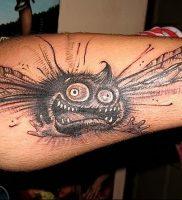 фото тату муха от 22.09.2017 №006 — Fly Tattoo — tattoo-photo.ru