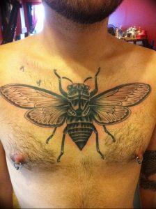фото тату муха от 22.09.2017 №018 - Fly Tattoo - tattoo-photo.ru