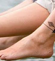 фото тату на щиколотке от 30.10.2017 №110 — ankle tattoo — tattoo-photo.ru