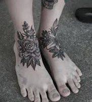 фото тату на щиколотке от 30.10.2017 №116 — ankle tattoo — tattoo-photo.ru