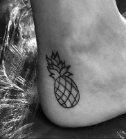 фото тату на щиколотке от 30.10.2017 №127 — ankle tattoo — tattoo-photo.ru