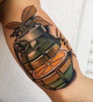фото тату оружие от 05.09.2017 №093 — tattoo weapons — tattoo-photo.ru