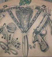 фото тату оружие от 05.09.2017 №097 — tattoo weapons — tattoo-photo.ru