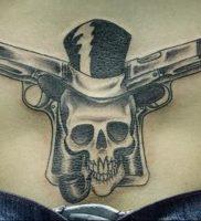 фото тату оружие от 05.09.2017 №101 — tattoo weapons — tattoo-photo.ru