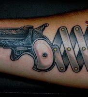 фото тату оружие от 05.09.2017 №102 — tattoo weapons — tattoo-photo.ru